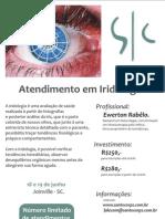 |||Cartaz em Iridologia