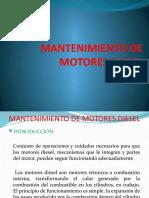 Mantenimiento de Motores Disel