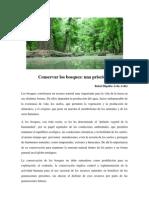 Conservar Los Bosques
