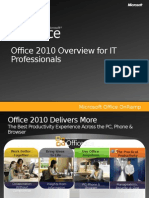 Office 2010 for IT Professionals