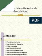Distribuciones de Probabilidad Binomial Poisson