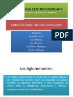 Síntesis de Materiales de Construcción CEMENTO Y ASFALTO