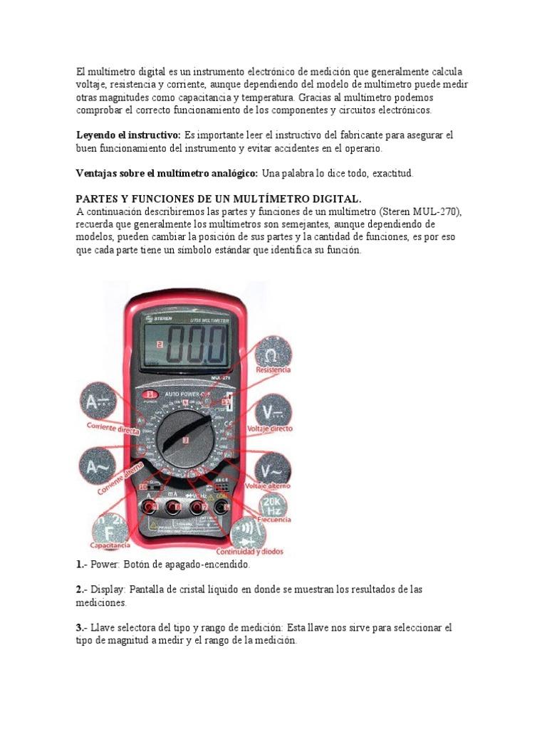 Electrnica Y Circuitos El Multimetro Digital Su Testing Circuit With Multimeter Stock Image 20315121 Bt Dt830b Multmetro Electrnico Piezas Del Kit Diy Produjeron Enseanza Prcticas De Entrenamiento Ofertas