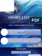 Smart Cities - Sustainability to Survive