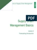 Basics of Supply Chain Managment (Lesson 2)