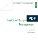 Basics of Supply Chain Managment (Lesson 8)