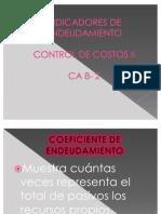 Presentacion Control de Costos Indicadores