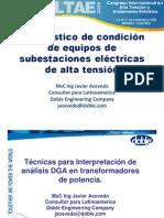 Tecnicas Para Interpretacion de Analisis DGA Javier Acevedo
