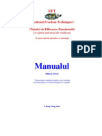 EFT Manual in Romana