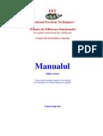 EFT Manual in Romana