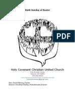 Holy Covenant Bulletin