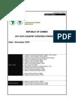 ZAMBIA -CSP 2011-2015