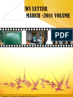 2011 News Letter - March