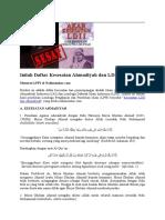 Aliran Sesat Ahmadiyah Dan LDII