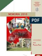 Resumen-memoria Proyeccion Social- Msamillan