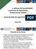 Presentacion Del Programa ONUDI de Consorcios de Exportacion y de Calidad en El Peru