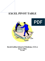 Pivot Table Info