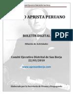 Boletin San Borja 003-2010