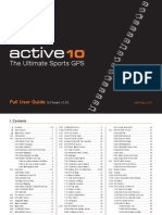 Active 10 GPS User Manual