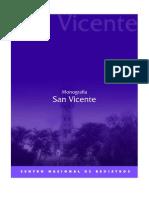 Monografia de SAN VICENTE