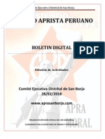 Boletin San Borja 002-2010