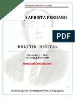 Boletin San Borja 007-2010