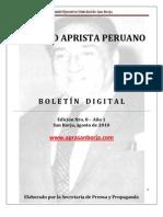 Boletin San Borja 008-2010