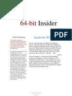 64-Bit Insider Volume 1 Issue 11