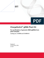 ChargeSwitch® gDNA Plant Kit