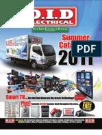 D.I.D Electrical Summer Brochure 2011