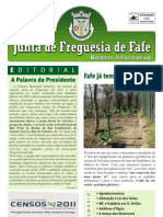 Boletim Informativo N.º 23 - Março/2011