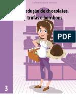 produção de Chocolates, trufas e bombons