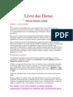 O LIVRO DAS DIETAS - GUIA DE NUTRIÇÃO