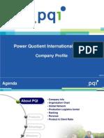 PQI Company Profile-twencompany Profile