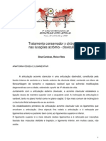 Tratamento conservador versus cirúrgico nas fracturas da clavícula. Braz Cardoso, Reis e Reis