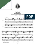 Bach Sinfonia Dalla Cantata Bwv 156