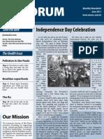 AmSoc Forum June 2011 issue