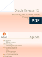 Procurement_ Oracle R12 AP-PO Changes Overview