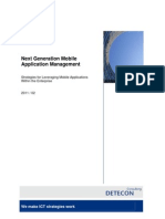 Detecon Opinion Paper Next-Generation Mobile Application Management