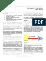 Pitfalls of Pump Piping