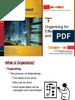 Ch07 Organizing MGT162