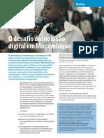 O desafio da inclusão digital em Moçambique
