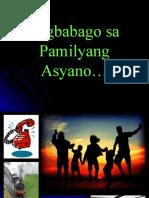Pagbabago Sa Pamilyang Asyano