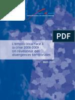 Rapport FNAU Emploi_Crise