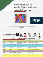 Orientaciones para la Atención a la Diversidad en Centro Educativo