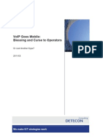 Detecon Opinion Paper VoIP Goes Mobile