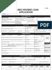 FLH060 Pag-IBIG Housing Loan Application