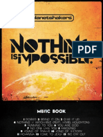 Planet Shakers-Nothing Is Impossible - Music book