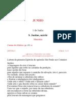 Leccionario Santoral 06 Jun