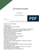 Leccionario Santoral Comum Dos Pastores
